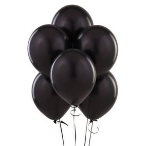 Black Latex Balloons, 10 Pieces, 10 Inches 🌸